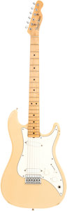 Musical Instruments:Electric Guitars, 1981 Fender USA Bullet White Solid Body Electric Guitar, Serial #E110852....