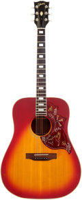 Musical Instruments:Acoustic Guitars, 1976 Gibson Hummingbird Sunburst Acoustic Guitar, Serial #00164366. ...