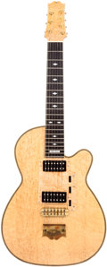 Musical Instruments:Electric Guitars, 1980's Kirk Sand Custom Lenny Breau 7-String Electric Guitar. ...