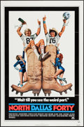 "Movie Posters:Sports, North Dallas Forty & Other Lot (Paramount, 1979). One Sheets (2) (27"" X 41""). Sports.. ... (Total: 2 Items)"