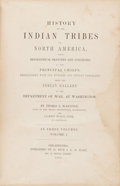 Books:Color-Plate Books, Thomas L. McKenney and James Hall. History of the Indian Tribesof North America, with Biographical Sketches and A...(Total: 3 Items)