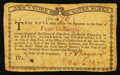 Colonial Notes:New York, New York January 6, 1776 (Water Works) 4s Very Fine.. ...