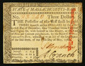 Colonial Notes:Massachusetts, Massachusetts May 5, 1780 $3 Very Fine-Extremely Fine.. ...