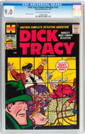 Silver Age (1956-1969):Mystery, Dick Tracy Comics Monthly #125 (Harvey, 1958) CGC VF/NM 9.0Off-white to white pages....