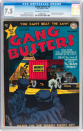 Golden Age (1938-1955):Crime, Gang Busters #8 (DC, 1949) CGC VF- 7.5 Off-white to white pages....