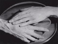 Photographs:20th Century, BERENICE ABBOTT (American, 1898-1991). Hands of Jean Cocteau,Paris, 1927. Gelatin silver, printed later. 7-1/4 x 9-3/8 ...