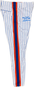 Baseball Collectibles:Uniforms, 2006 Tom Glavine Game Worn New York Mets Pants. ...