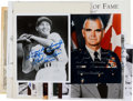 Autographs:Others, Signed Photographs and Original Art from The Stan Musial Collection....