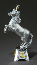 Silver Smalls:Other , A TIFFANY & CO. SILVER AND ENAMEL CIRCUS HORSE AND PLINTHDESIGNED BY GENE MOORE. Tiffany & Co., New York, New York,circa 1...
