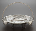 Silver Holloware, Continental:Holloware, A PASTNIKOV RUSSIAN SILVER AND SILVER GILT BASKET . AndreiPastnikov, Moscow, Russia, circa 1889. Marks: (Moscow), 84,AK/...