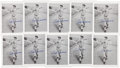 Autographs:Others, Ted Williams Signed Photographic Prints Lot of 10 from The StanMusial Collection....