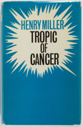 Books:Literature 1900-up, Henry Miller. Tropic of Cancer. London: Calder, [1963].First English edition. Publisher's binding, dust jacket....