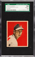Baseball Cards:Singles (1940-1949), 1949 Bowman Vernon Bickford #1 SGC 92 NM/MT+ 8.5....