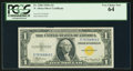 Small Size:World War II Emergency Notes, Fr. 2306 $1 1935A North Africa Silver Certificate. PCGS Very Choice New 64.. ...