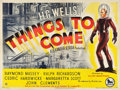 """Movie Posters:Science Fiction, Things to Come (British Lion, R-1948). British Quad (30"""" X 40"""").. ..."""