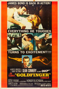 """Movie Posters:James Bond, Goldfinger (United Artists, 1964). Poster (40"""" X 60"""") Style Y.. ..."""