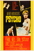 "Movie Posters:Hitchcock, Psycho (Paramount, 1960). Poster (40"" X 60"") Style Y.. ..."