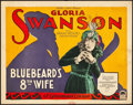 "Movie Posters:Comedy, Bluebeard's Eighth Wife (Paramount, 1923). Title Lobby Card (11"" X14"").. ..."