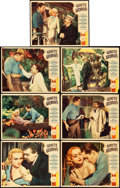 "Movie Posters:Drama, White Woman (Paramount, 1933). Lobby Cards (7) (11"" X 14"").. ...(Total: 7 Items)"
