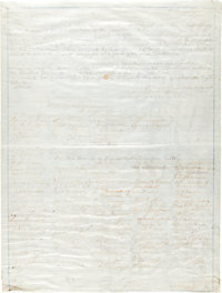 13th Amendment, Congressional Manuscript Copy, Signed by Members of the 38th Congress