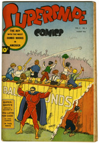 "Supersnipe Comics V2#4 Davis Crippen (""D"" Copy) pedigree (Street & Smith, 1944) Condition: FN"