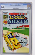 Bronze Age (1970-1979):Humor, Richie Rich Gold and Silver #4 File Copy (Harvey, 1976) CGC NM+ 9.6White pages....