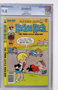 Modern Age (1980-Present):Humor, Richie Rich #217 (Harvey, 1982) CGC NM/MT 9.8 White pages....