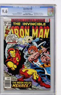 Iron Man #109 (Marvel, 1978) CGC NM+ 9.6 Off-white to white pages