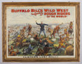 "Western Expansion:Cowboy, ""CUSTER'S LAST RALLY"" LITHOGRAPH - Buffalo Bill's Wild West andCongress of Rough Riders of the World Poster by Hoen & Compa..."