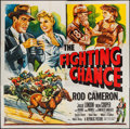 "Movie Posters:Sports, The Fighting Chance (Republic, 1955). Six Sheet (80"" X 81"") Flat Folded. Sports.. ..."