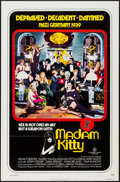 "Movie Posters:Sexploitation, Madam Kitty & Other Lot (Trans American, 1976). One Sheets (2)(27"" X 41""). Sexploitation. Alternate Title: Salon Kitty....(Total: 2 Items)"