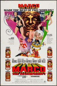 """Marco the Magnificent (MGM, 1966). One Sheet (27"""" X 41""""), and Photos (11) (8"""" X 10""""). Adventure..."""