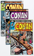 Modern Age (1980-Present):Miscellaneous, Conan the Barbarian Short Box Group (Marvel, 1979-93) Condition: Average NM....