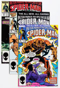 Modern Age (1980-Present):Superhero, Spectacular Spider-Man Super High-Grade Short Box Group (Marvel,1986-97) Condition: Average NM+....