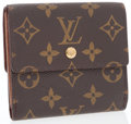 Luxury Accessories:Accessories, Louis Vuitton Classic Monogram Canvas Elise Wallet . ...