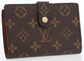 Luxury Accessories:Accessories, Louis Vuitton Classic Monogram Canvas Wallet with Gold Hardware....