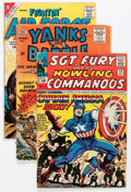 Silver Age (1956-1969):War, Silver Age War Comics Group (Various Publishers, 1960s) Condition: Average GD/VG....