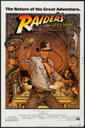 "Movie Posters:Adventure, Raiders of the Lost Ark (Paramount, R-1982). Printer's Proof One Sheet (27"" X 41""). Adventure.. ..."
