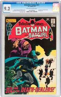 Detective Comics #411 (DC, 1971) CGC NM- 9.2 Off-white to white pages