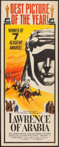 "Movie Posters:Academy Award Winners, Lawrence of Arabia (Columbia, 1962). Insert (14"" X 36"") AcademyAwards Style B.. ..."