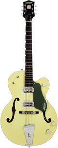 Musical Instruments:Electric Guitars, 2006 Gretsch 6118 Double Anniversary Two-Tone Green Semi-Hollow Body Electric Guitar, Serial # JF06010043...