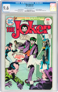 Bronze Age (1970-1979):Superhero, The Joker #1 (DC, 1975) CGC NM+ 9.6 Off-white to white pages....