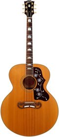 Musical Instruments:Acoustic Guitars, 1996 Gibson J-200 Natural Acoustic Guitar, Serial # 91286007....