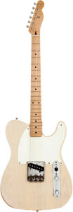 Musical Instruments:Electric Guitars, 1956 Fender Esquire Blonde Solid Body Electric Guitar, Serial #11375....