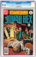 Bronze Age (1970-1979):Western, Jonah Hex #1 Savannah pedigree (DC, 1977) CGC NM 9.4 Cream to off-white pages....