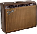 Musical Instruments:Amplifiers, PA, & Effects, 1964 Fender Vibroverb Brown Guitar Amplifier....