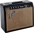 Musical Instruments:Amplifiers, PA, & Effects, 1967 Fender Vibro Champ Black Guitar Amplifier....