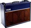 Musical Instruments:Amplifiers, PA, & Effects, 1962 Vox AC-30 Blue Guitar Amplifier. ...