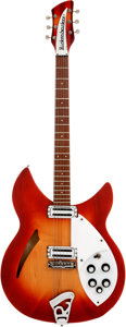 Musical Instruments:Electric Guitars, 1967 Rickenbacker 330 Fireglo Semi-Hollow Body Electric Guitar, Serial # GK4581....