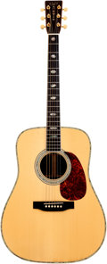 Musical Instruments:Acoustic Guitars, 1990 Martin D-41 Natural Acoustic Guitar, Serial # 495255....